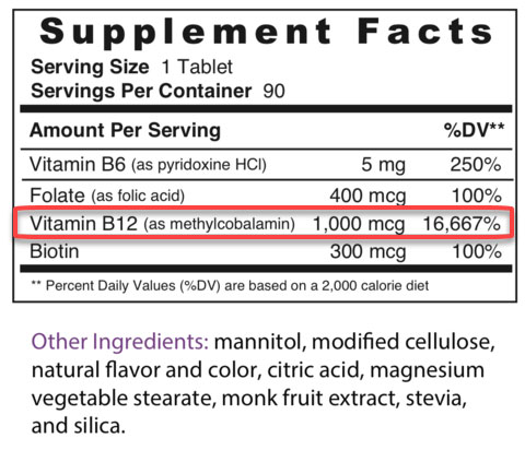 supplement facts 2